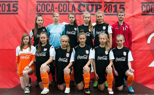 FINAŁ WOJEWÓDZKI COCA-COLA CUP W TORUNIU 13.06.2015