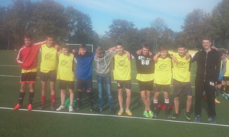 Udany start chłopców w Mistrzostwach Powiatu w Piłce Nożnej