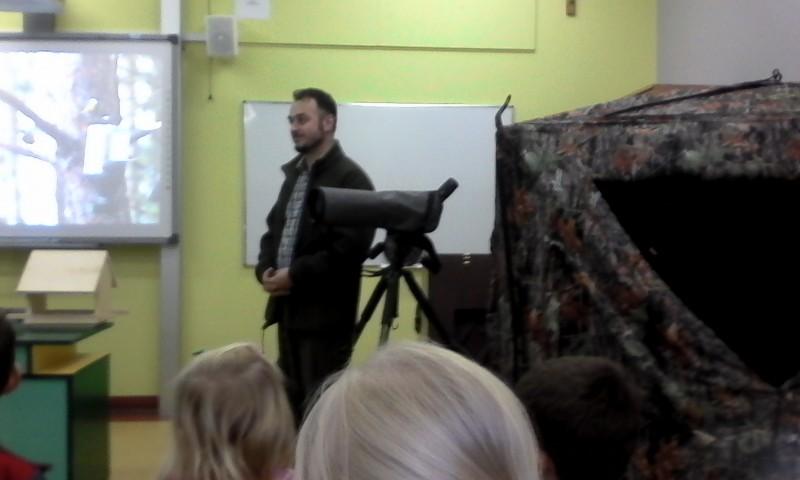 O ptakach w naszej szkole….