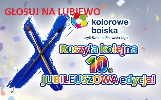 Kolorowe Boiska – Szkoła Lubiewo… zobacz i zagłosuj!