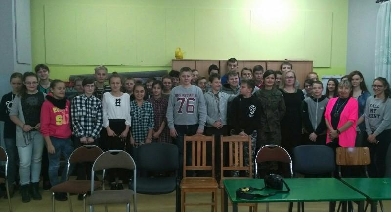 Wojsko w szkole…