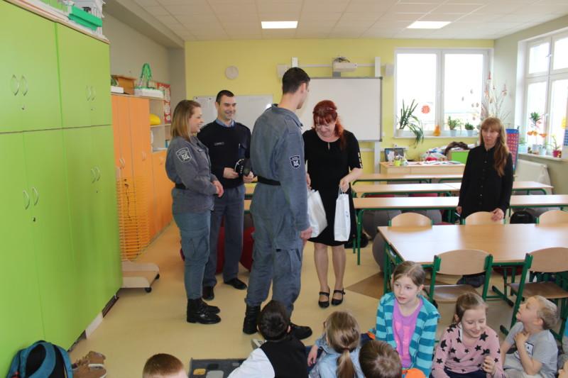 Odwiedziny przedstawicieli Ośrodka Doskonalenia Kadr Służby Więziennej w Suchej