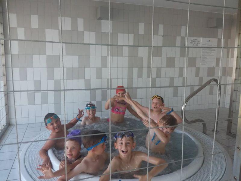 Drugi sezon nauki pływania.