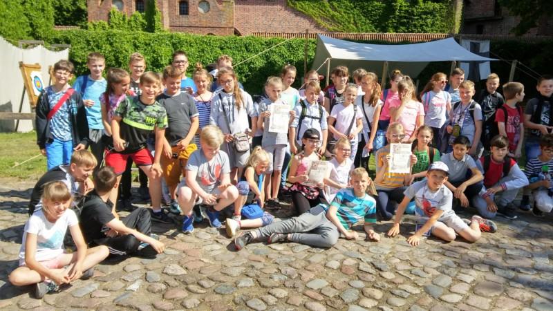 Wycieczka do Malborka klas piątych i klasy szóstej