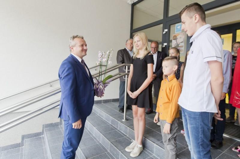 Wojewoda Kujawsko-Pomorski Mikołaj Bogdanowicz odwiedził naszą szkołę!