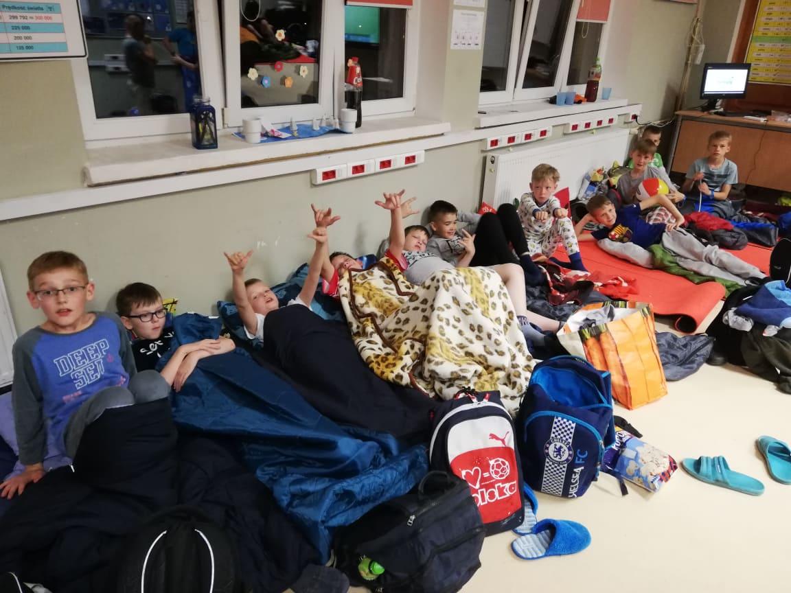 Nocka w szkole klas czwartych