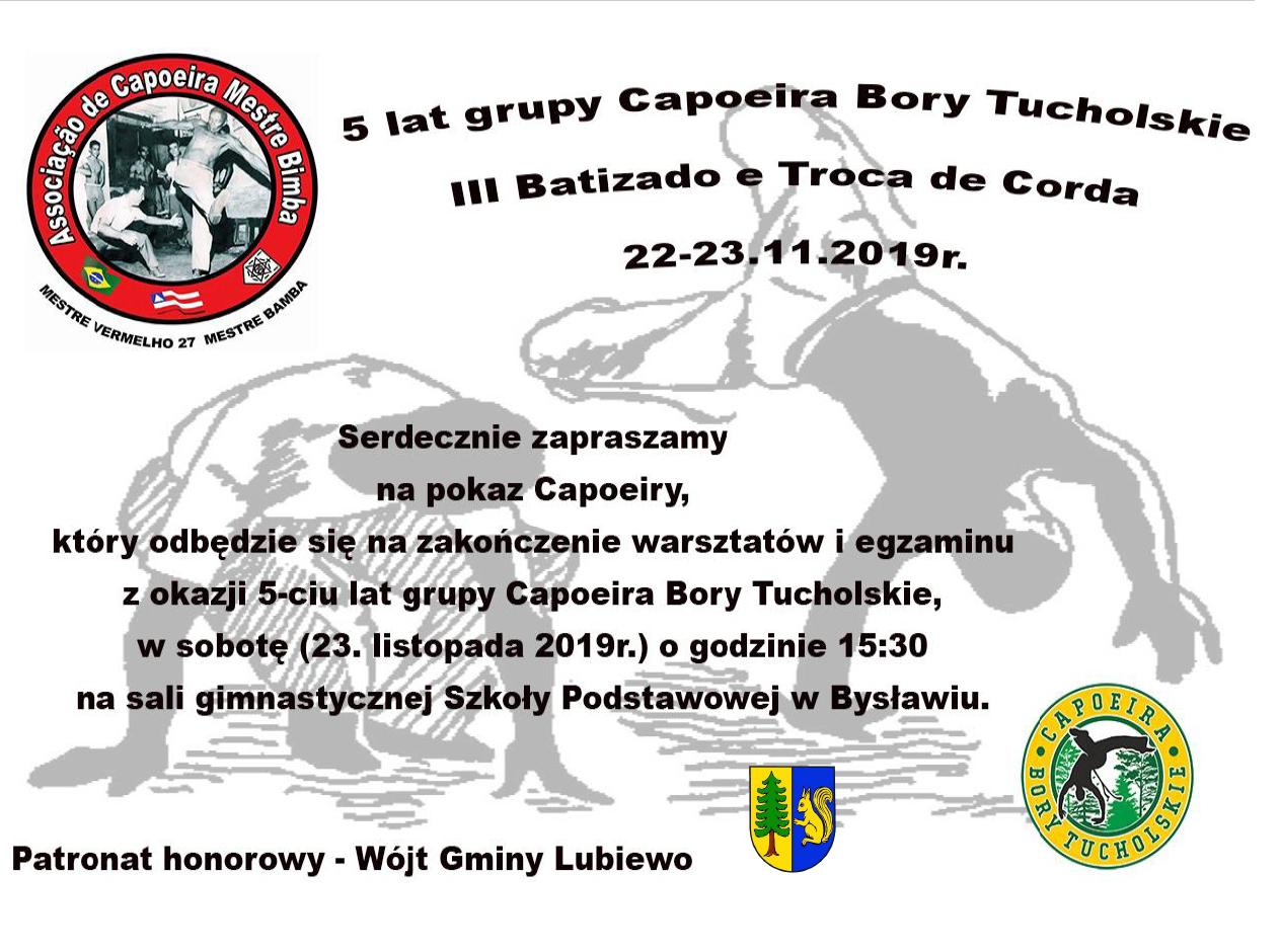 5 lat grupy CAPOEIRA Bory Tucholskie